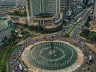Suasana Bundara Hotel Indonesia (HI). Foto : Ig Jakarta View.