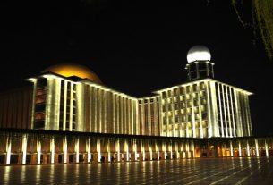 Masjid Istiglal. Foto : Antara