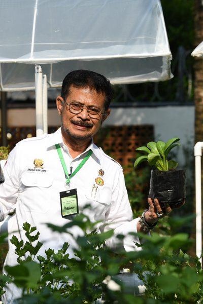 Menteri Pertanian Syahrul Yasin Limpo. Foto : Kementan