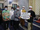 Wakil Gubernur Provinsi DKI Jakarta, Ahmad Riza Patria mengapresiasi penyelenggaranJakarta Ramadan Festival di Masjid An Nur, Mampang Prapatan, Pancoran, Jakarta Selatan, pada Kamis (6/5).