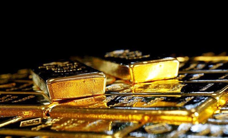 Dokumentasi - Batangan emas di Pabrik Pemisahan Emas dan Perak Austria di Wina, Austria. Foto : Reuters