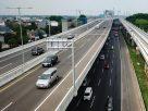 Jalan tol layang MBZ resmi ditutup pada masa larangan mudik Idulfitri 1442 H atau hari raya Lebaran 2021(Dok. Jasa Marga)