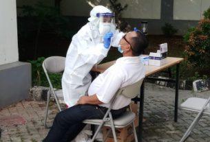 Ilustrasi test antigen