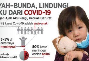 Kampanye #MediaLawanCovid untuk perlindungan anak-anak dari virus Covid-19 (Istimewa)